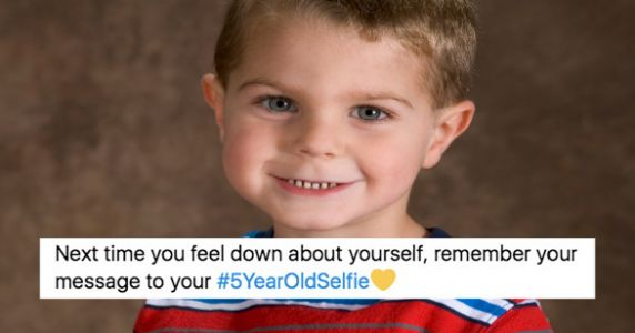 People Are Writing Messages To Their 5-Year-Old Selves In The Spirit Of Mental Health