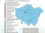 London's unhealthiest high streets: Haringey tops the chart with the worst and best offenders