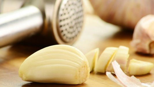 Garlic is good for your heart; it lowers your blood pressure