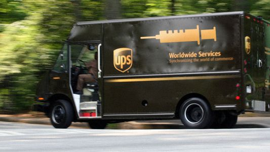 UPS partnering with drug giants to inject you with vaccines in your own home. pilot project a blueprint for nationwide vaccine mandates at gunpoint