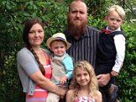 Father-of-three in a medically induced COMA from the flu