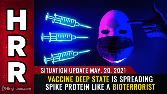 The VACCINE DEEP STATE is spreading spike protein particles in acts of terrorism to perpetuate the plandemic
