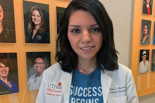6 Brain Surgeries Later, This Med Student Is Excelling