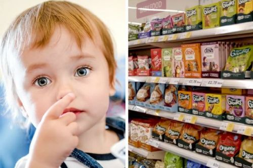 Some baby snacks have almost as much salt content as a packet of Walkers Crisps