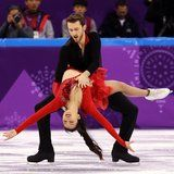 """This Ice Dancing Routine to """"Despacito"""" Is So Sexy and Even Has a Wardrobe Malfunction"""