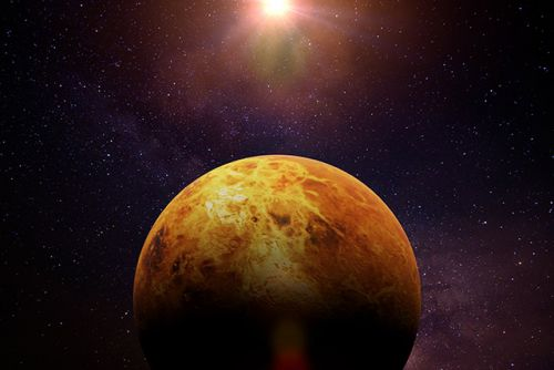 Interplanetary hoppers: Microbes from Earth may have reached Venus by hitchhiking on asteroids