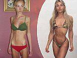 Model, 29, whose weight dropped when she had anorexia reveals how she gave up diets for dream body