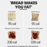 If You Think Bread Makes You Gain Weight, You Need to See This Photo