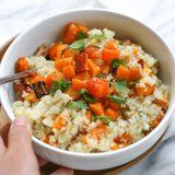 You and Your Dinner Guests Will Be Glad You Whipped Up This Paleo Cauliflower Risotto