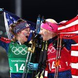 2 Badass Cross-Country Skiers Just Made History at the Olympics, and Their Faces Say It All