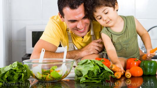 Dads' diets before conception found to impact child health, study finds dads need to eat better before expecting too
