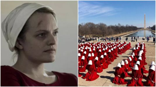 'The Handmaid's Tale' Is Filming In D.C. And The Pictures Are Haunting