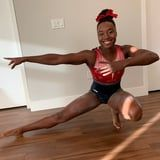 Olympic Swimmer Simone Manuel Dressed as Simone Biles For Halloween and Nailed It