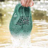 The Latest in Eco-Friendly Footwear? Water Shoes Made Out of Algae
