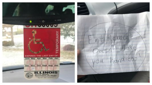 Dear Stranger: My Disability Parking Permit Is NOT Up For Judgment