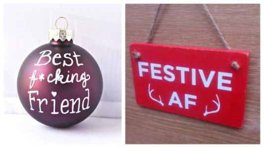 Swear Word Ornaments Exist To Make You Feel Jolly As F*ck