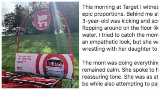 Viral Post Nails Why It's OK To Support Moms Dealing With Public Tantrums