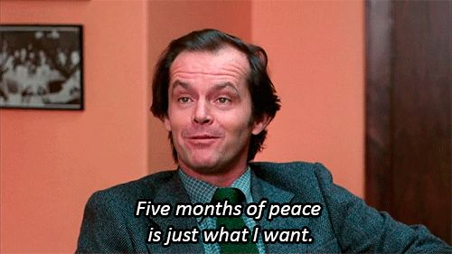 Stages Of Quarantine, In 'The Shining' Gifs