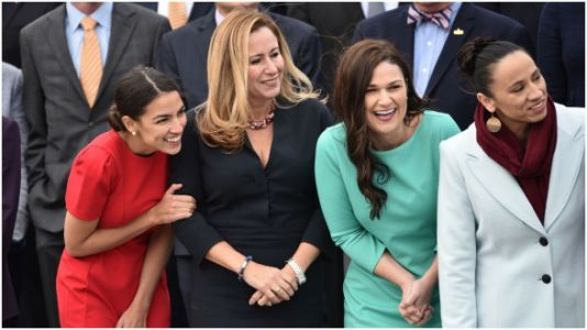 Here's A Look At The New Generation Of Congresswomen On Their 1st Day In Office