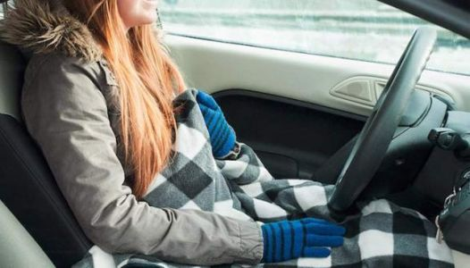 This Heated Blanket Plugs Into Your Car So Your Commute Can Be Cozy AF