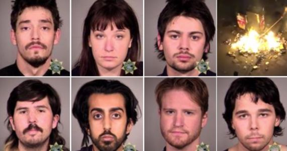 Seven ANTIFA militants facing federal charges for attack on Portland courthouse