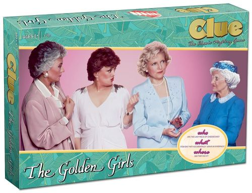 'Golden Girls' Monopoly And Clue Are 40% Off On Amazon Right Now