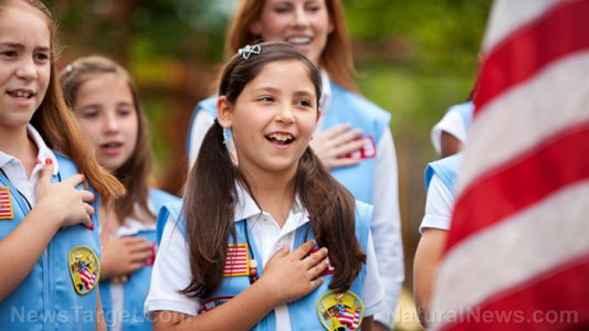 Girl Scouts now celebrating young girls who push abortion, oblivious to the fact that HALF of all abortions are baby girls