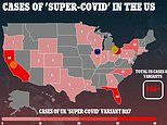 146 Americans have UK 'super-covid' as cases DOUBLE in Florida and variant strikes 60 countries