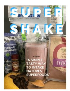 Darren's secret Super Shake!