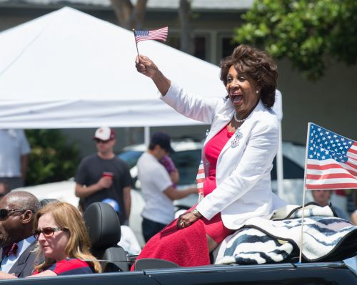 Maxine Waters calls for nationwide social chaos to depose the President, sweep authoritarians into power