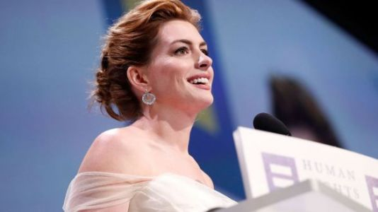 Anne Hathaway Calls Out And Rejects Her Privilege During Powerful Speech