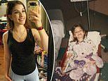 21-year-old woman celebrates living cancer free for eight years after battling leukemia