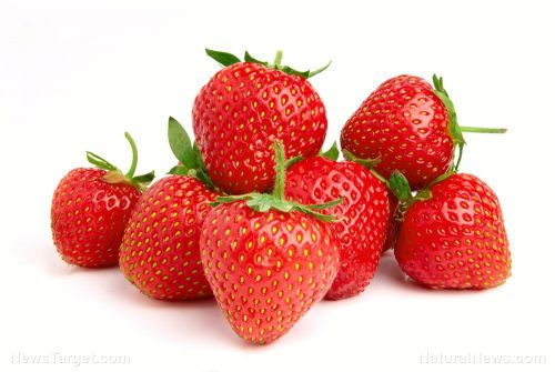 Apples and strawberries contain a natural compound called fisetin that can make your skin look younger