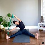 If You Suffer From Back Pain or Neck Tension, Grab a Band and Do These 5 Pilates Str