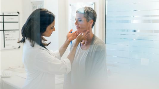 What To Know About The 'Thyroid Guard' When You Get A Mammogram