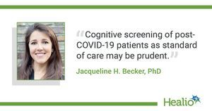 Cognitive impairment somewhat common after COVID-19 infection