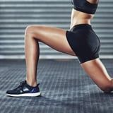 Want to Build Strong, Sexy Legs Without Weights? Here's How, According to a Trainer