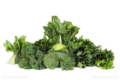 Green, leafy vegetables can decrease your risk of glaucoma by 20%