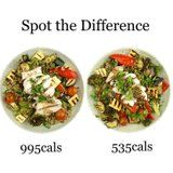 """This """"Healthy"""" Salad Is Almost 1,000 Calories - Don't Make These Mistakes"""