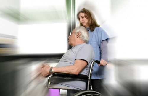 Older people admitted to the hospital are at increased risk of disability and functional decline