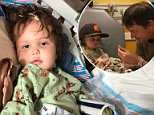 Couple fighting to save life of their baby battling rare brain tumor