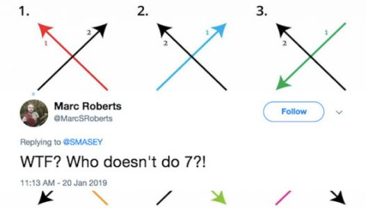 Twitter Is Losing Its Sh*t Over The Right Way To Draw An 'X'