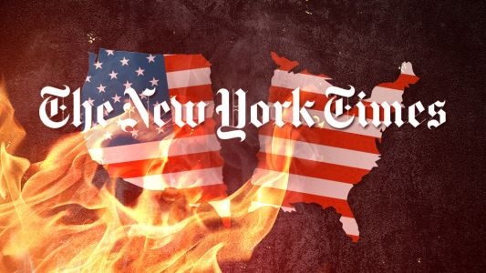 New York Times quietly removes anti-White propaganda from anti-American '1619 Project', angering the far left