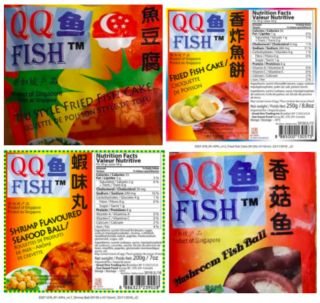 Various fish ball, cake products recalled because of undeclared egg