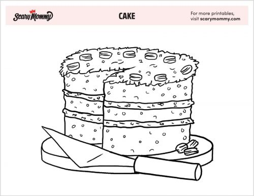 You Batter Believe These 10 Cake Coloring Pages Are Deliciously Fun