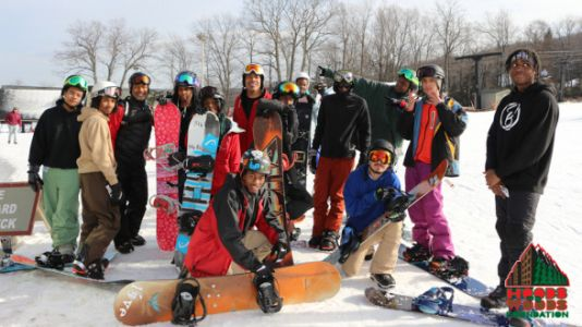 'Hoods To Woods' Takes Inner City Kids Snowboarding All Winter - For Free