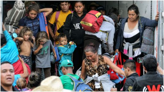Mother In Migrant Caravan Pleads With Trump: 'Open The Doors For Us, I Beg You'