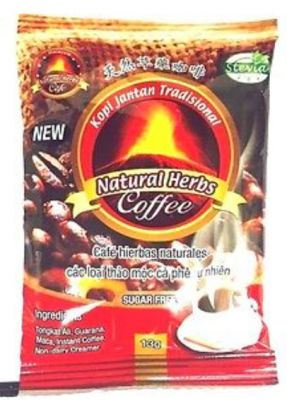 Bestherbs Coffee LLC Issues Voluntary Nationwide Recall of New Kopi Jantan Tradisional Natural Herbs Coffee due to the Presence of Undeclared Active Pharmaceutical Ingredients and Undeclared Milk