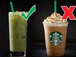 Nutritionists reveal what to order and what to avoid at Starbucks
