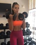 Grab 2 Dumbbells and Get Ready to Crush This Trainer's 4-Move Arms and Abs Workout